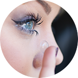Visoka propustnost za kisik - kontaktne leče